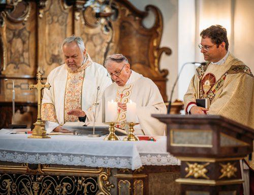60 Jahre Priester – Pater Josef Reischmann SDS