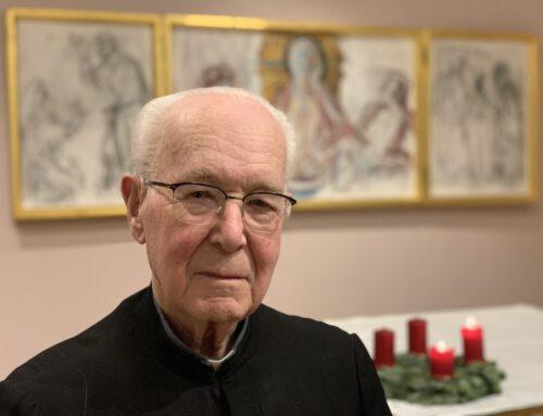 70 Jahre Profess von Pater Richard Zehrer
