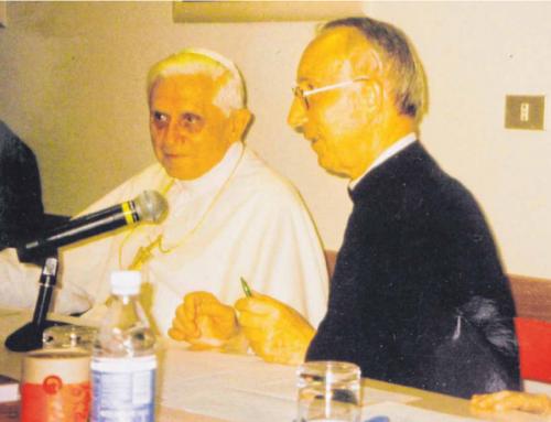 Der Salvatorianer und der Papst